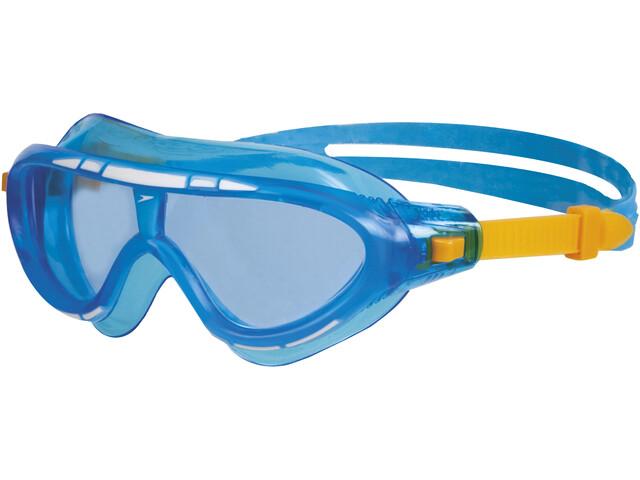 speedo Biofuse Rift Goggles Barn blue/orange